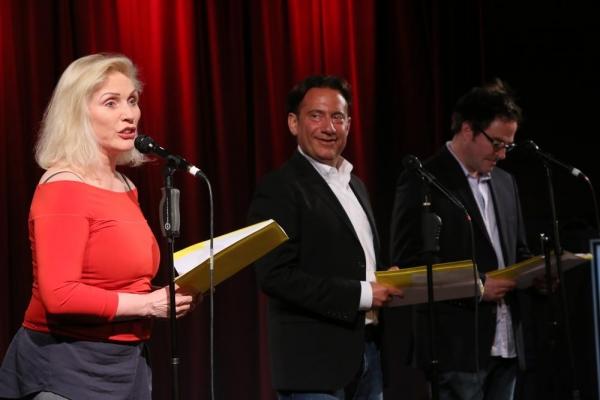 Debbie Harry, Eugene Pack and Roger Bart