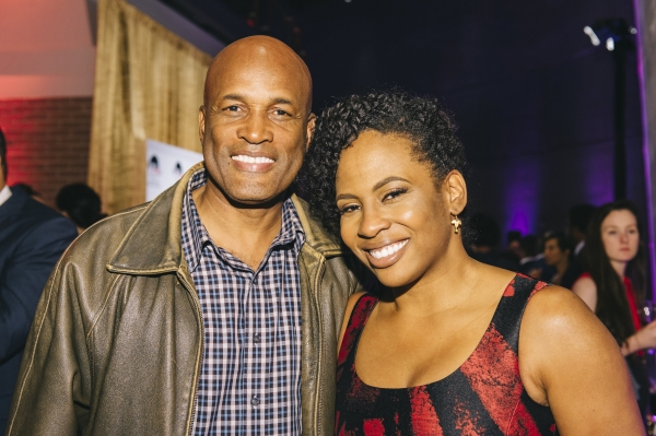 Kenny Leon with director Kamilah Forbes