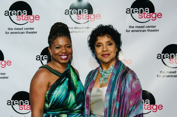 THE BLOOD QUILT Playwright Katori Hall with Phylicia Rashad, honorary event chair