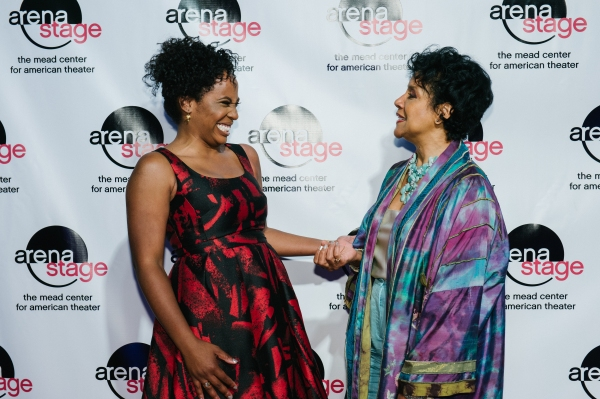Director Kamilah Forbes with Phylicia Rashad