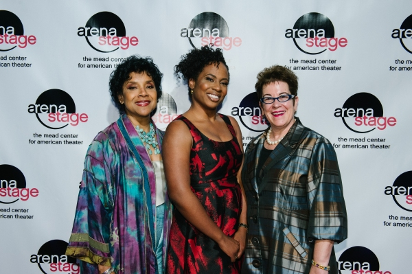 Phylicia Rashad with the production''s director Kamilah Forbes and Arena Stage Artistic Director Molly Smith