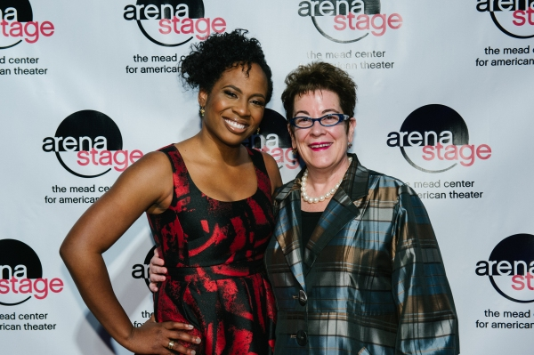 Director Kamilah Forbes and Arena Stage Artistic Director Molly Smith
