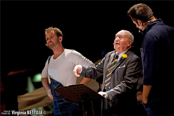Marco Rea, Carlo Reali e Gianluca Bessi