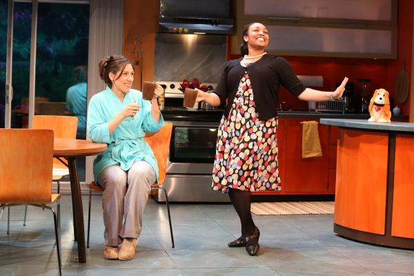 Farah Alvin as Pam and Natalie Venetia Belcon as Phyllis