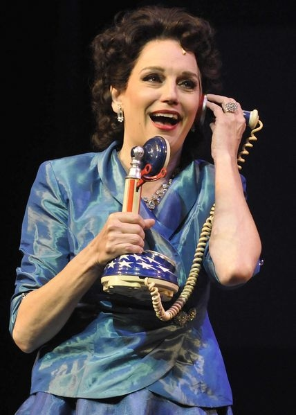 Beth Leavel at First Look at Beth Leavel, Steve Blanchard and More in CALL ME MADAM