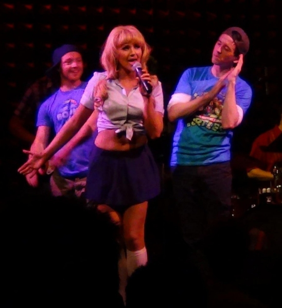 Steffanie Leigh, Eric Hatch and Garret Hawe at Morgan James, Jenna Leigh Green & More in BROADWAY SINGS THE 90'S