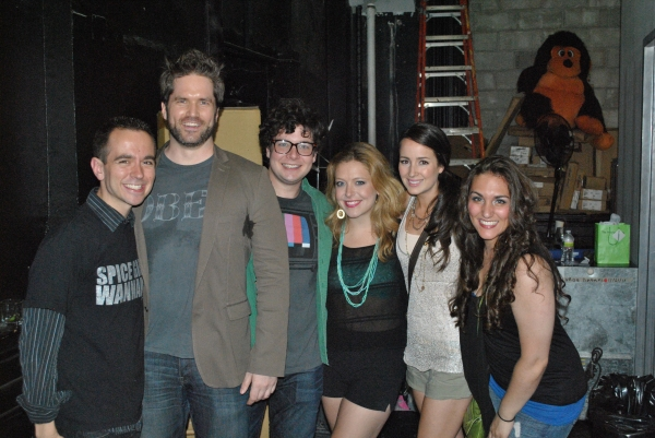 Benjamin Rauhala, Aaron Ramey, Will Blum, Emily Afton, Hannah Elless and Jillian Soares at Morgan James, Jenna Leigh Green & More in BROADWAY SINGS THE 90'S