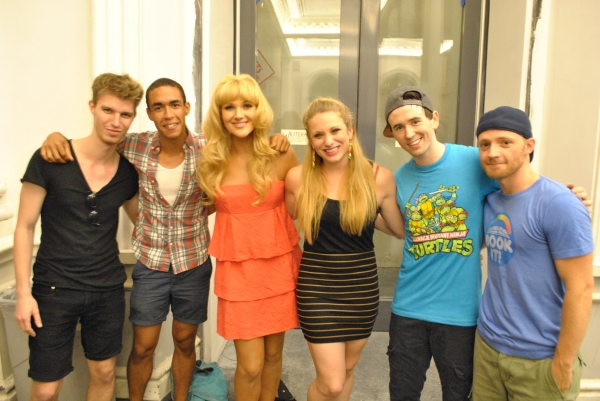 Ryan Park, Kyle Beltran, Steffanie Leigh, Jessica Waxman, Garett Hawe and Eric Hatch