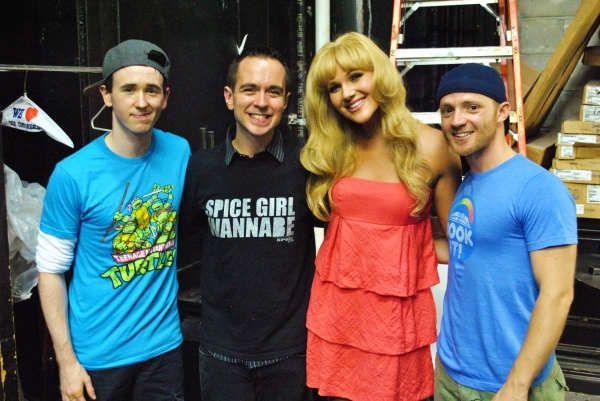 Garett Hawe, Benjamin Rauhala, Steffanie Leigh and Eric Hatch