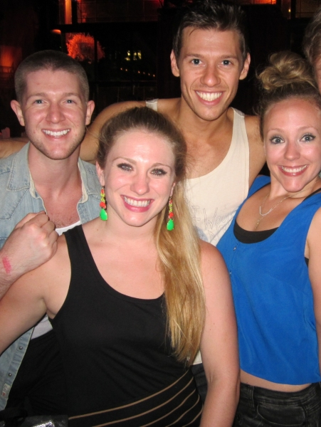 Eric Krop, Constantine Rousouli, Jessica Waxman and Tracy McDowell at Morgan James, Jenna Leigh Green & More in BROADWAY SINGS THE 90'S