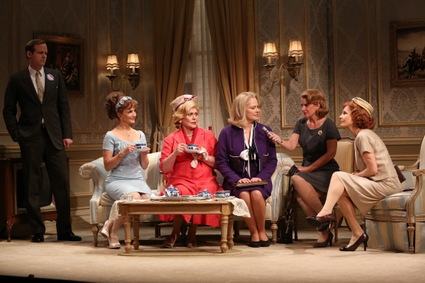 Corey Brill, Kristin Davis, Elizabeth Ashley, Cybill Shepherd, Amy Tribbey, Donna Hanover at First Look at Elizabeth Ashley, Cybill Shepherd & More in Gore Vidal's THE BEST MAN!
