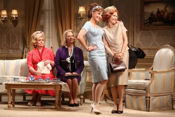 Elizabeth Ashley, Cybill Shepherd, Kristin Davis, Donna Hanover at First Look at Elizabeth Ashley, Cybill Shepherd & More in Gore Vidal's THE BEST MAN!