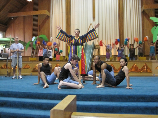 Photo Flash: Sneak Peek at Rehearsals for Paul's Players' JOSEPH AND THE AMAZING TECHNICOLOR DREAMCOAT