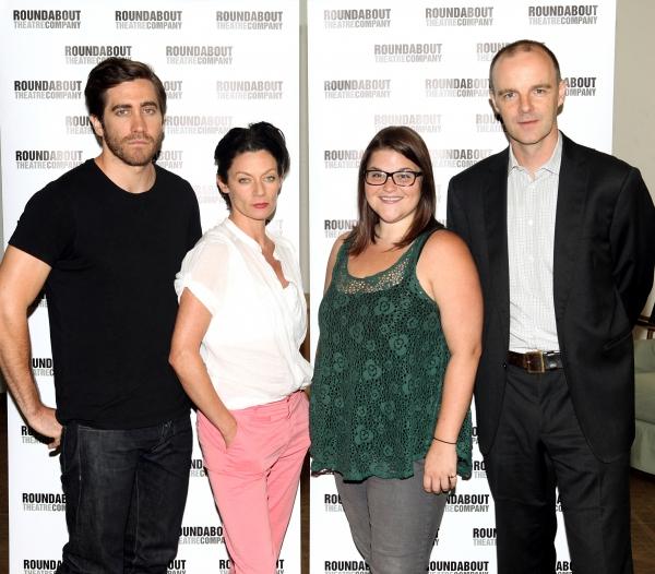 Jake Gyllenhaal, Michelle Gomez, Annie Funk and Brian F. O'Byrne Photo