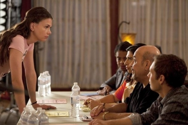 Sutton Foster, Rose Abdoo, Jon Polito, Casey Adler at First Look - Jon Polito Guest Stars on 8/13 BUNHEADS
