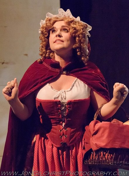 Photo Flash: First Look at Amy Barker, Thomas Eiser & More in SBCT's INTO THE WOODS