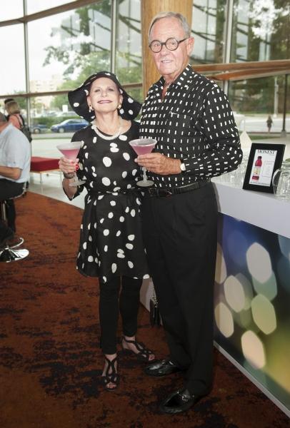 Arena Stage Board Vice Chair Judy Lynn Prince with Bob Haiman