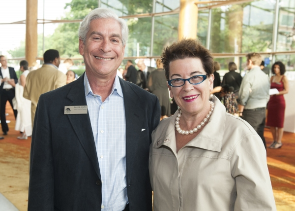 Arena Stage Board Chair David Shiffrin and Arena Stage Artistic Director Molly Smith