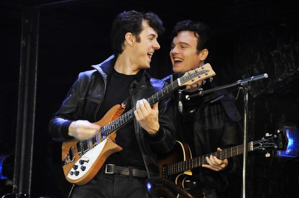 Photo of Andrew Knott and Daniel Healy  Photo
