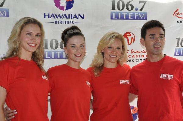 Jessica Rush, Katie O'Toole, Cara Cooper and Dominic Scaglione Jr.