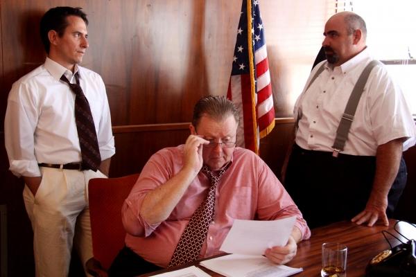 Gordon Carmadelle, Thomas Evans and Joe Costanza Photo