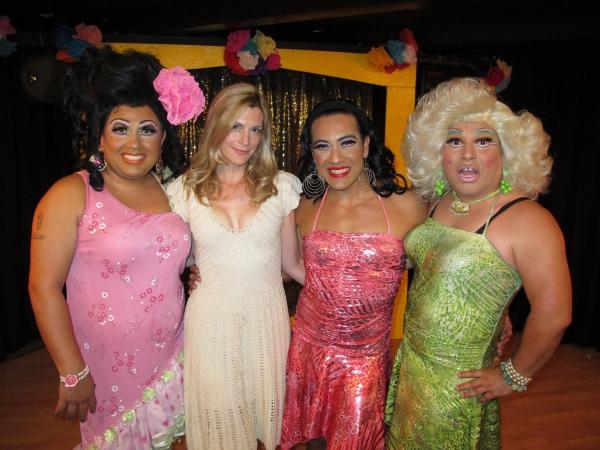 Photo Flash: Jai Rodriguez, et. al Visit Chico's Angels Opening Night