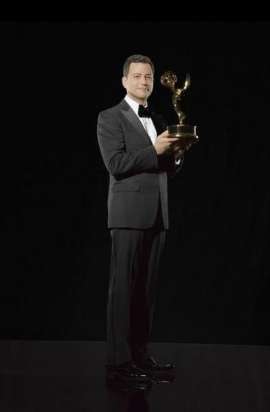 Photo Flash: Jimmy Kimmel Prepares to Host 64th Primetime Emmy Awards