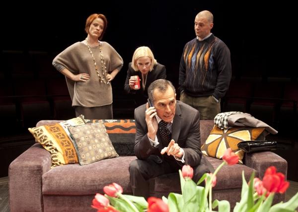 (from left) Erika Rolfsrud as Veronica Novak, Caitlin Muelder as Annette Raleigh, T.  Photo