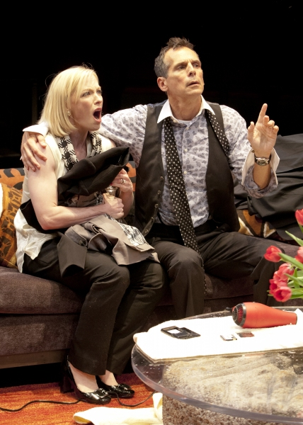 Caitlin Muelder as Annette Raleigh and T. Ryder Smith as Alan Raleigh in the San Dieg Photo