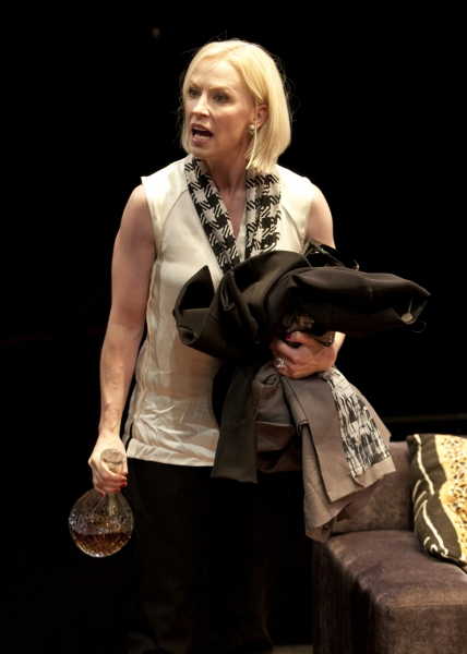 Caitlin Muelder as Annette Raleigh in the San Diego Premiere of God of Carnage by Yas Photo