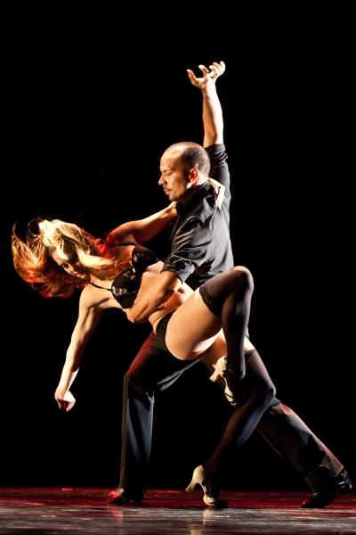 Jessica Walker and Marcos Santana