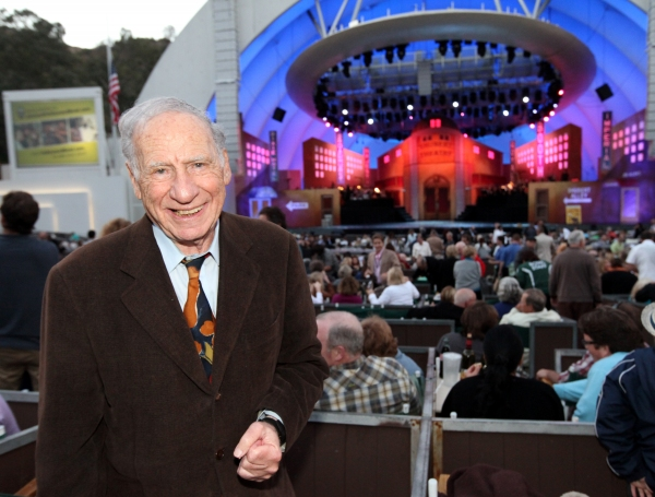 Mel Brooks at The Hollywood Bowl