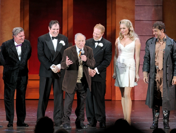 Gary Beach, Roger Bart, Mel Brooks, Jesse Tyler Ferguson, Rebecca Romijn and Dane Cook