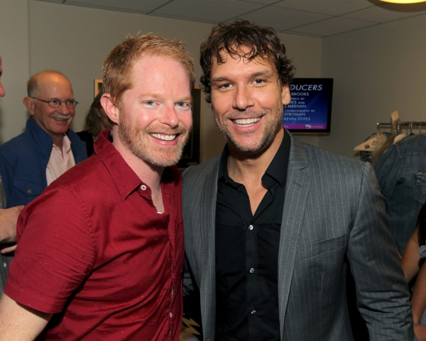 Jesse Tyler Ferguson and Dane Cook at Jesse Tyler Ferguson, Richard Kind and More in THE PRODUCERS at The Hollywood Bowl, Part 2!