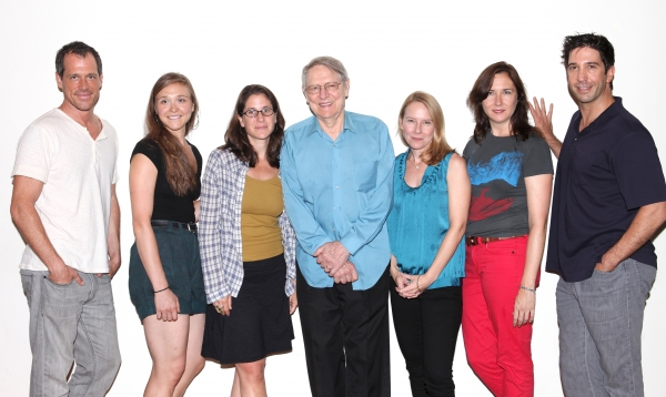 Darren Pettie, Sarah Sokolovic, Anne Kauffman, John Cullum, Amy Ryan, Lisa D'Amour an Photo