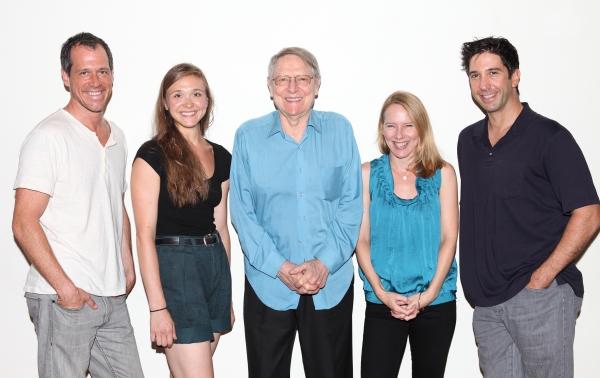 Darren Pettie, Sarah Sokolovic, John Cullum, Amy Ryan & David Schwimmer Photo