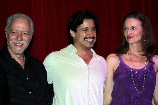 Jeff Keller, Enrique Acevedo, Jessica Burrows Photo