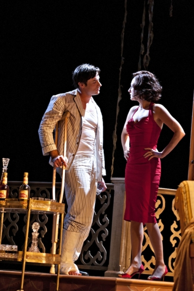 Photo Flash: First Look at Tom Degnan and Eleanor Handley in CAT ON A HOT TIN ROOF