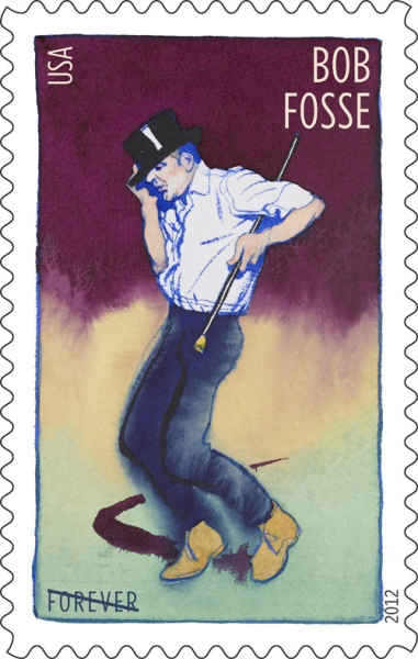 Photo Flash: Bob Fosse Featured on New Postage Stamp!