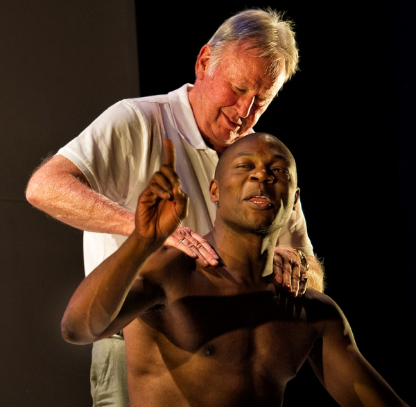 Photo Flash: Obi Abili and Paul Moriarty in TAKING PART at Criterion Theatre