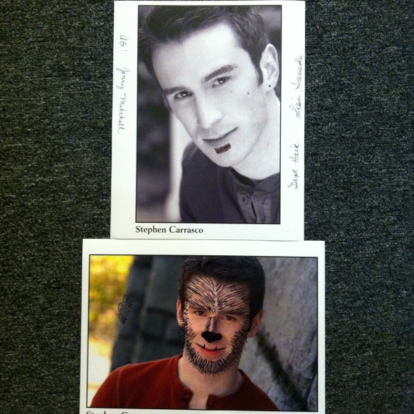"""""""As Jerry Mitchell"""" and """"The Teen Wolf"""" by Lisa Preston of Wardrobe Photo"""