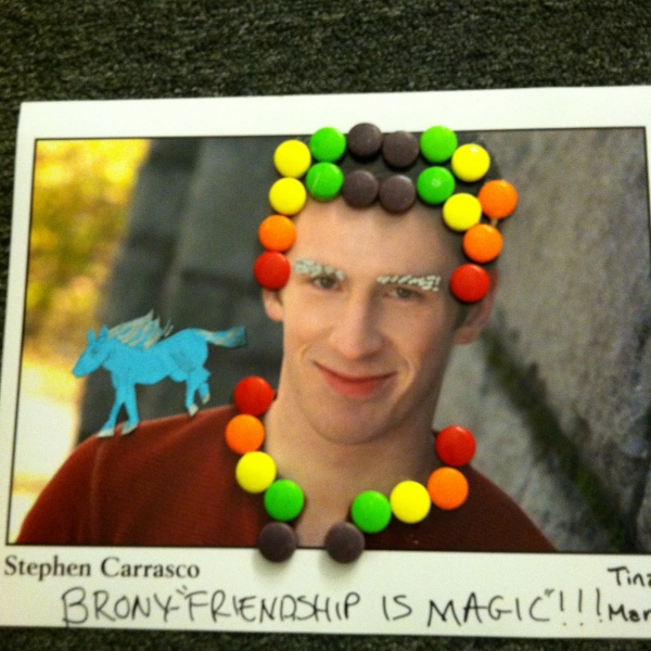 """""""Brony-Friendship is Magical"""" by Tina Clifton of Wardrobe Photo"""