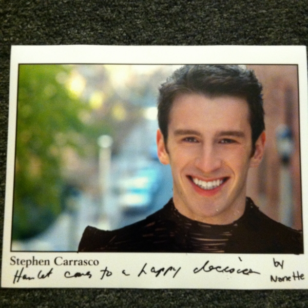 """""""Hamlet Comes to a Happy Decision"""" by Nanette Golia of Wardrobe Photo"""