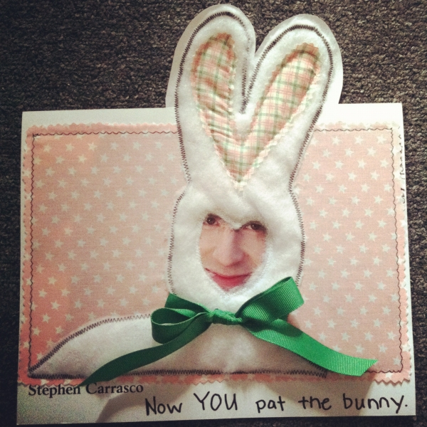 """""""Now YOU Pat the Bunny"""" by Joby Horrigan of Wardrobe Photo"""