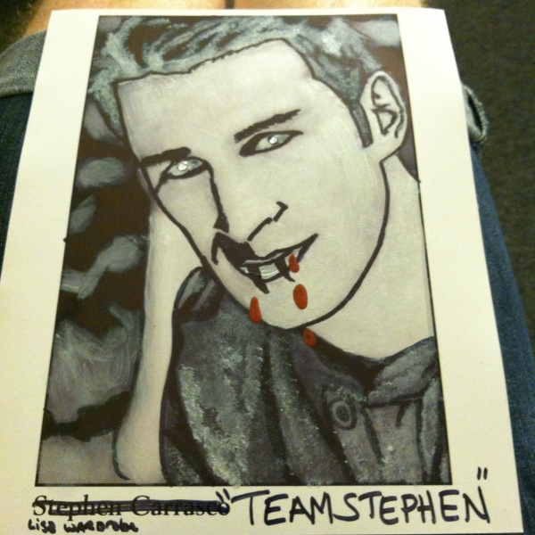 Photo Flash: GHOST on Broadway's Stephen Carrasco Doodle Contest Entries!