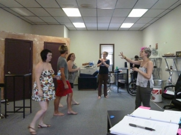 Photo Flash: DATE ME, DO ME, DUMP ME in Rehearsal at the Rex Theater