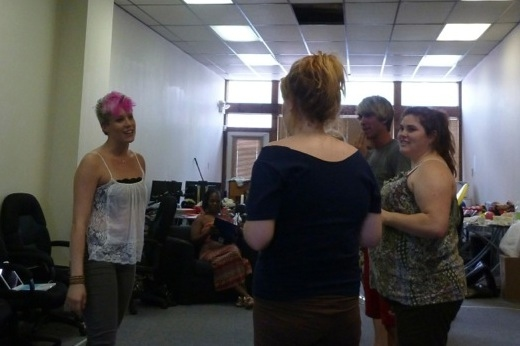 Aubrey Klinger, Leah Fox, Leah Keele, and Camden Williams Photo