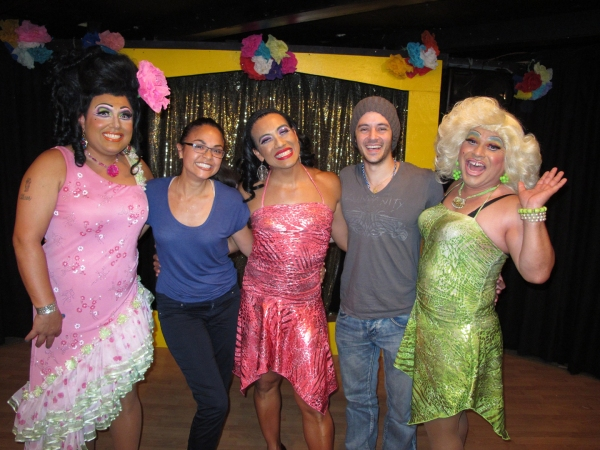 Photo Flash: Karen Olivo and George Akram Visit CHICO'S ANGELS in LA