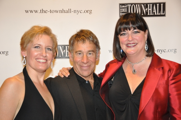 Liz Callaway, Stephen Schwartz and Ann Hampton Callaway at Jason Danieley, Joshua Henry, Norm Lewis Perform with Liz Callaway at Town Hall!