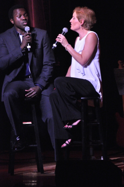 Photo Coverage: Jason Danieley, Joshua Henry, Norm Lewis Perform with Liz Callaway at Town Hall!